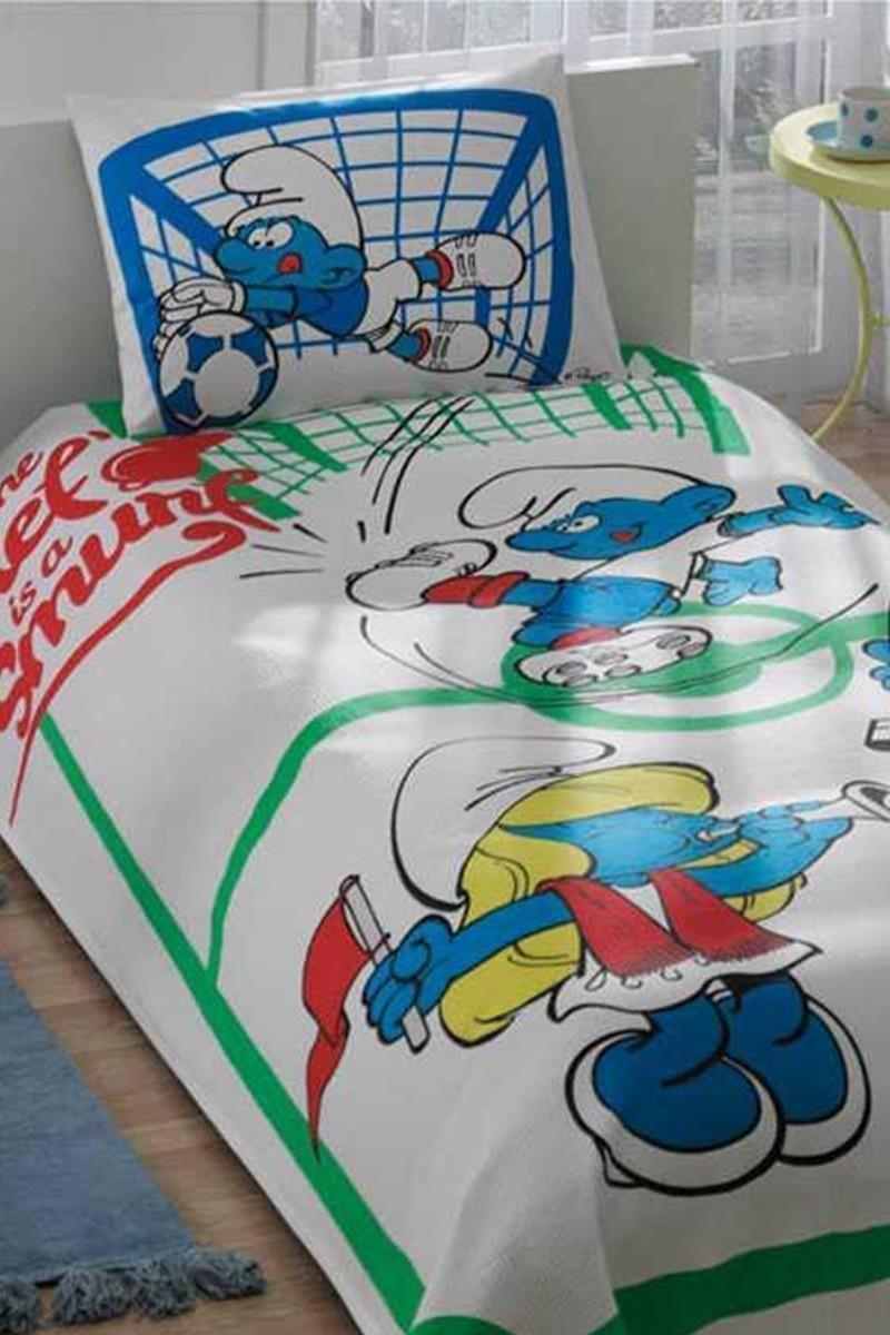 Taç Beyaz DD-60089511 Pike Takımı Şirinler Football