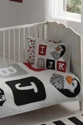 Taç Beyaz DD-60090987 Bebek Pike Takımı Bjk Aşk Baby