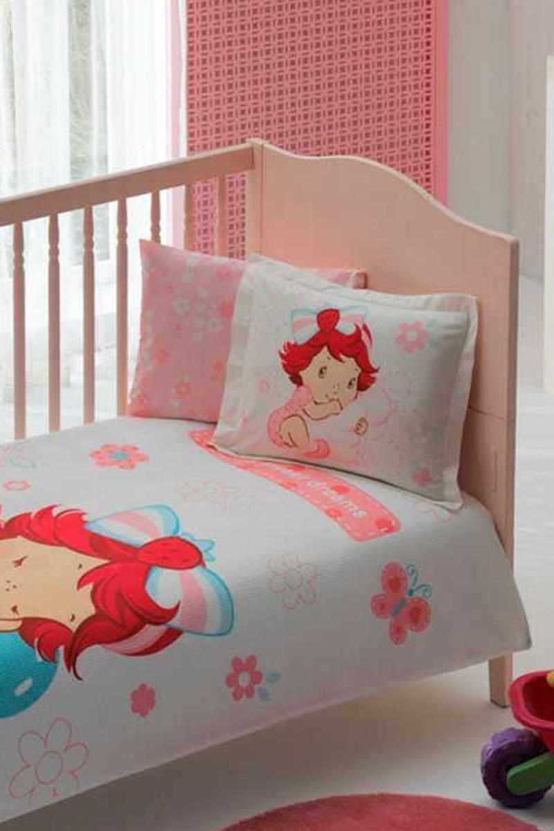Taç Beyaz DD-60090993 Bebek Pike Takımı S.Shortcake Dreams