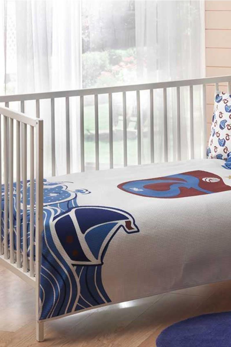 Taç Beyaz DD-60093362 Bebek Pike Takımı Ts Wave Baby