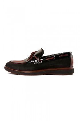 Pandew Siyah PNDW-145 Hakiki Deri Erkek Ayakkabı