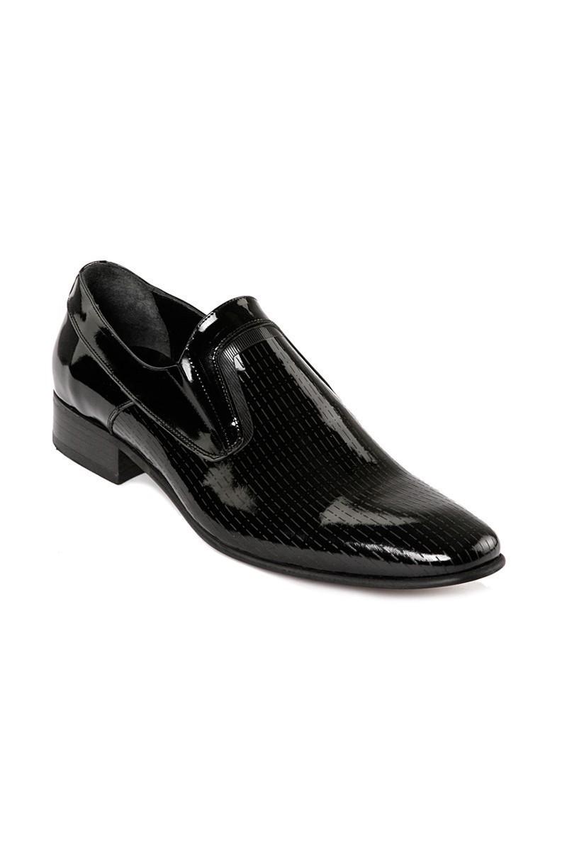 Lotex Siyah LTX-018 Erkek Rugan Ayakkabı
