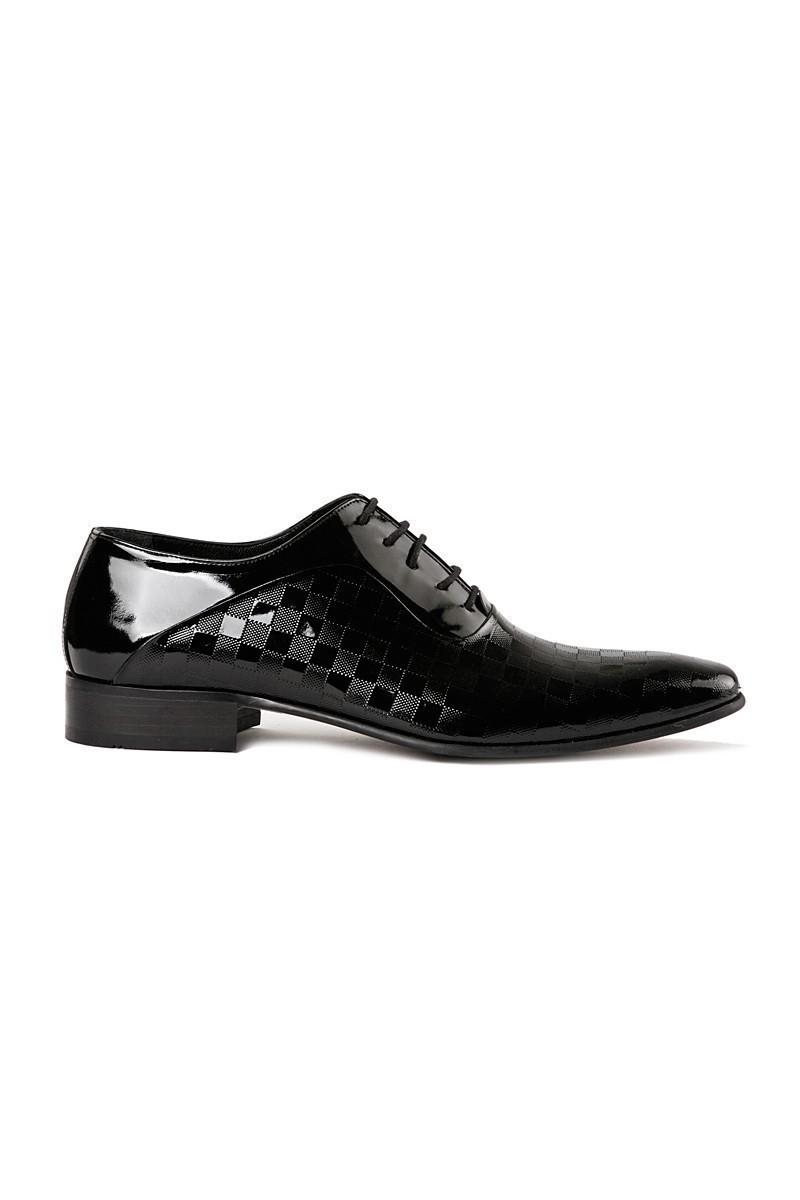 Lotex Siyah LTX-010 Erkek Rugan Ayakkabı