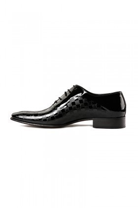 Lotex Siyah WNT-010 Erkek Rugan Ayakkabı