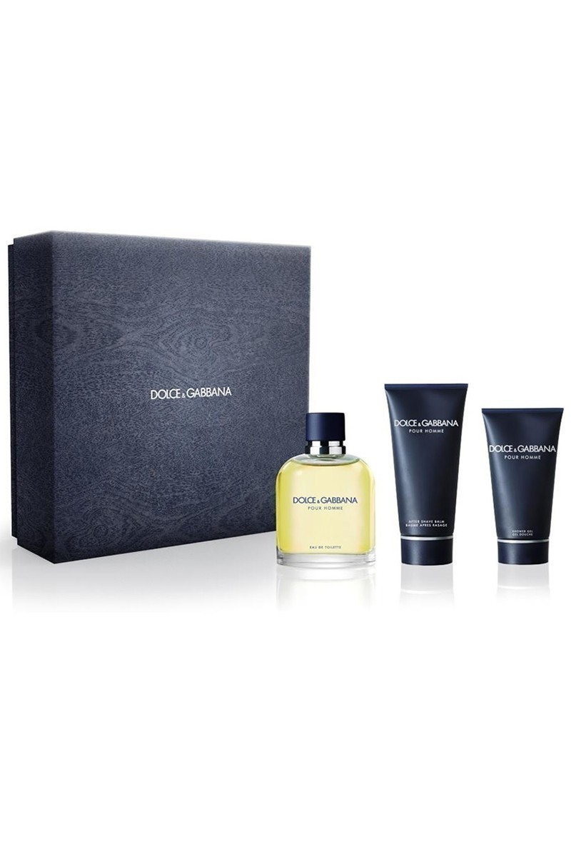 Dolce Gabbana 737052711768 Homme Set Edt 125Ml+After Shave Balm 100Ml+Duş Jeli 50Ml