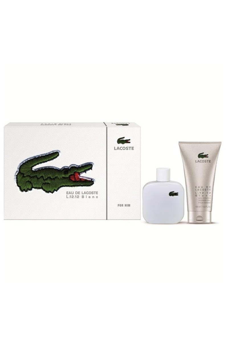 LACOSTE 737052727349 Blanche Erkek Set Edt100Ml+Duş Jeli 150Ml