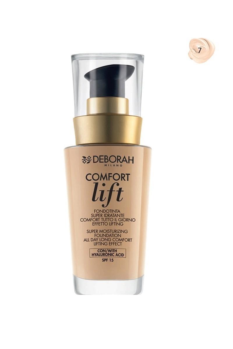 Deborah 8009518123142 Fondöten Comfort Lift Vanilla 7