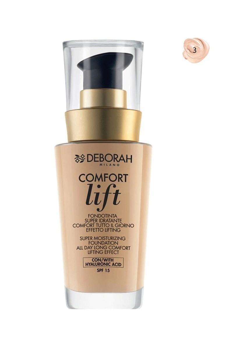 Deborah 8009518122626 Fondöten Comfort Lift Sand 3