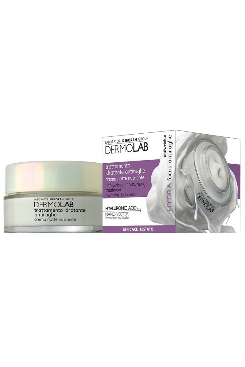 Deborah 8009518000290 Antiwrinkle Moisturising Treatment Night Cream 50Ml