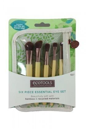 Ecotools 79625012279 Bamboo 6Lı Göz Makyaj Seti
