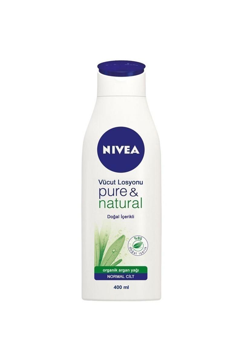 Nivea 4005900032126 Vücut Losyonu Pure Natural 400Ml