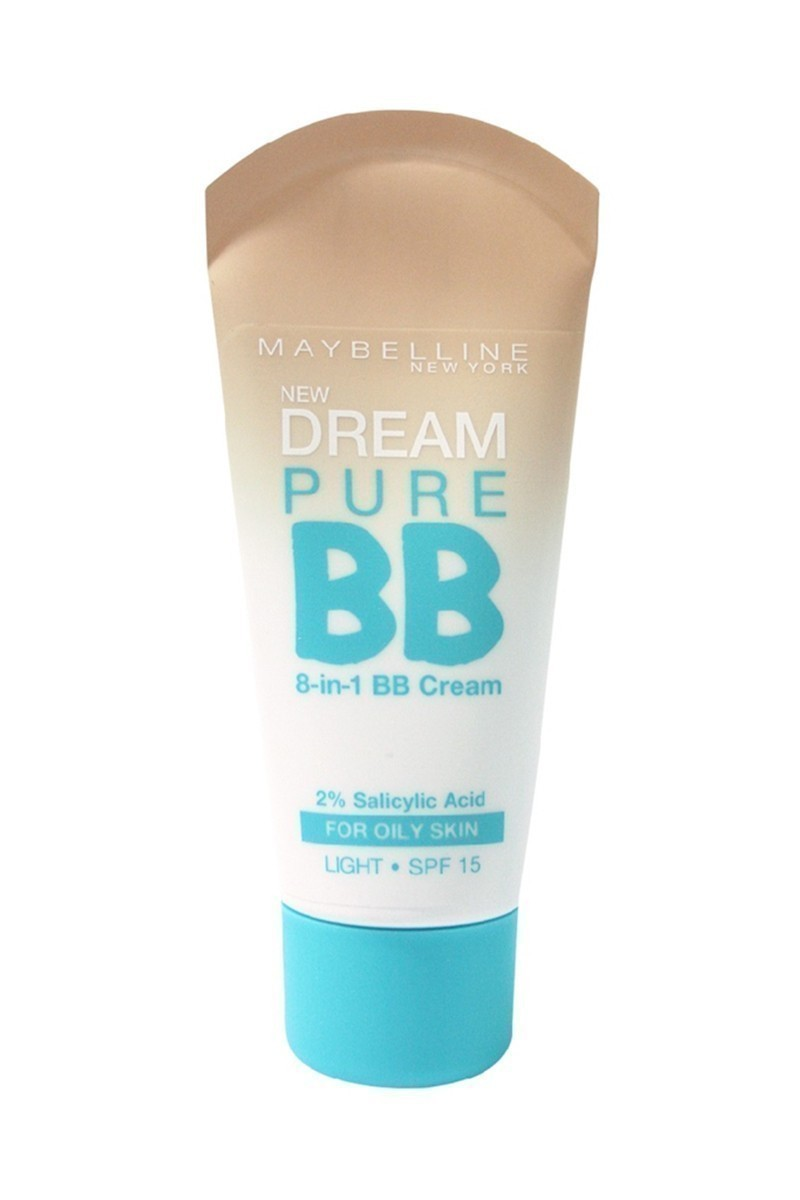 Maybelline 3600530878857 Fondöten Dream Pure Bb Oily Skin Light