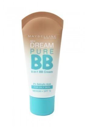 Maybelline 3600530878864 Fondöten Dream Pure Bb Oily Skin Medium