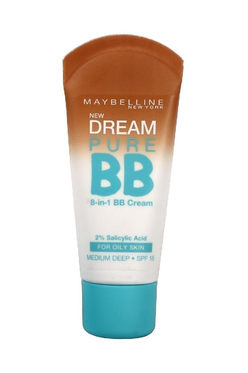Maybelline 3600530878871 Fondöten Dream Pure Bb Oily Skin Medium Deep
