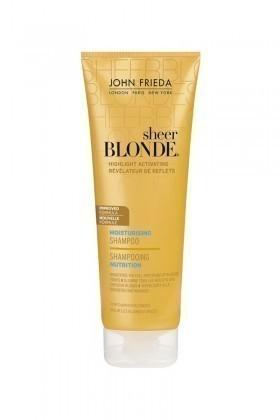 John Frieda 5037156051865 Sheer Blonde Koyu Sarı Tonlardaki Saçlara Özel Nemlendirici Şampuan 250 Ml