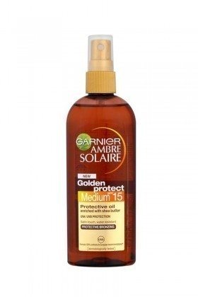 Ambre Solaire 3600540873187 Golden Touch Yağ Spray Spf15 150Ml