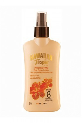 Hawaiian Tropic 5099821001285 Lotion Spray Spf8 200Ml