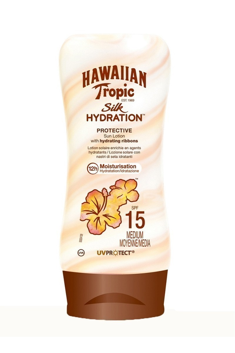 Hawaiian Tropic 5099821001407 Tropic Lotion Silk Hydratıon Spf15 180Ml