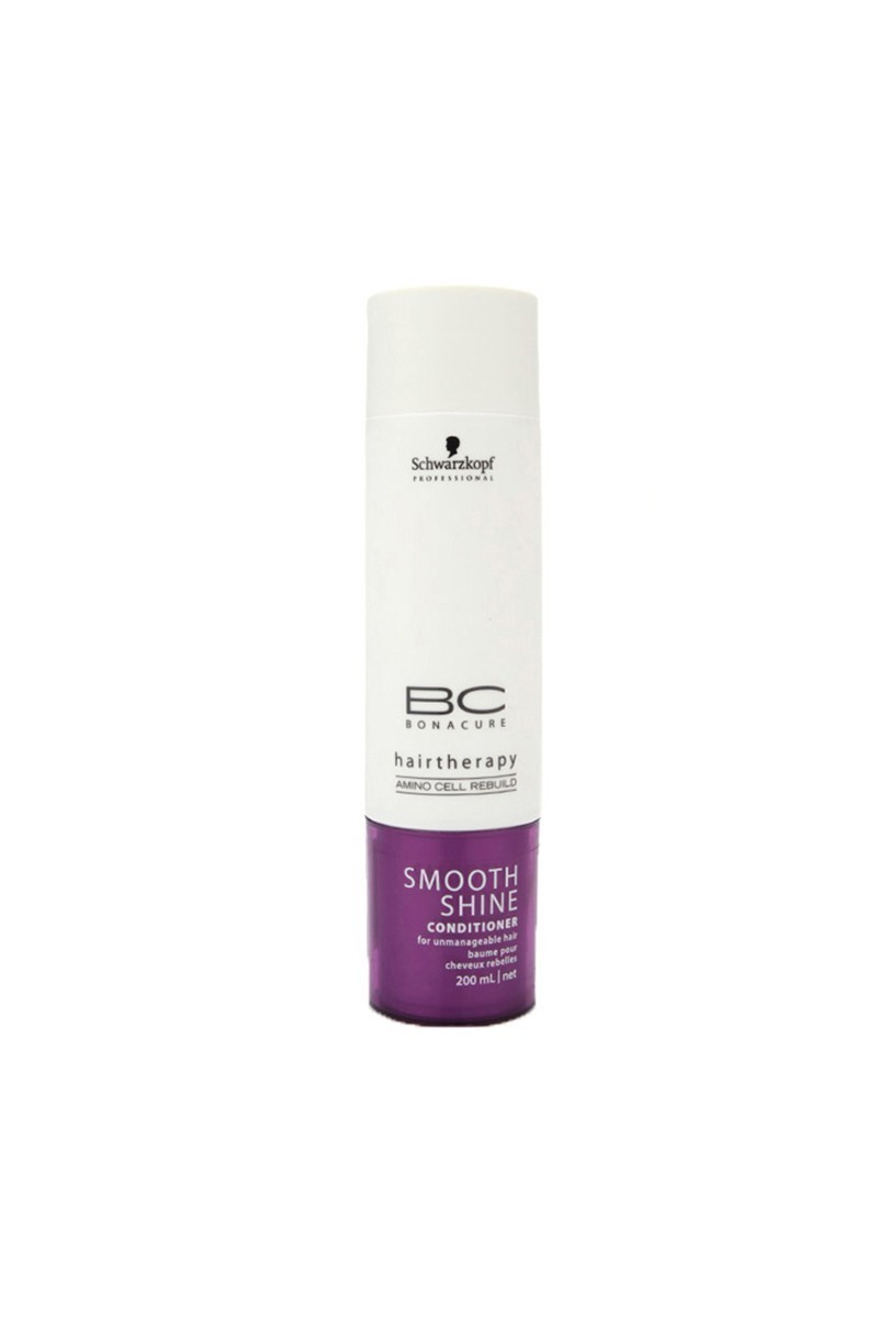 Schwarzkopf 4045787140101 Bonacure Smooth Shine Conditioner 200Ml