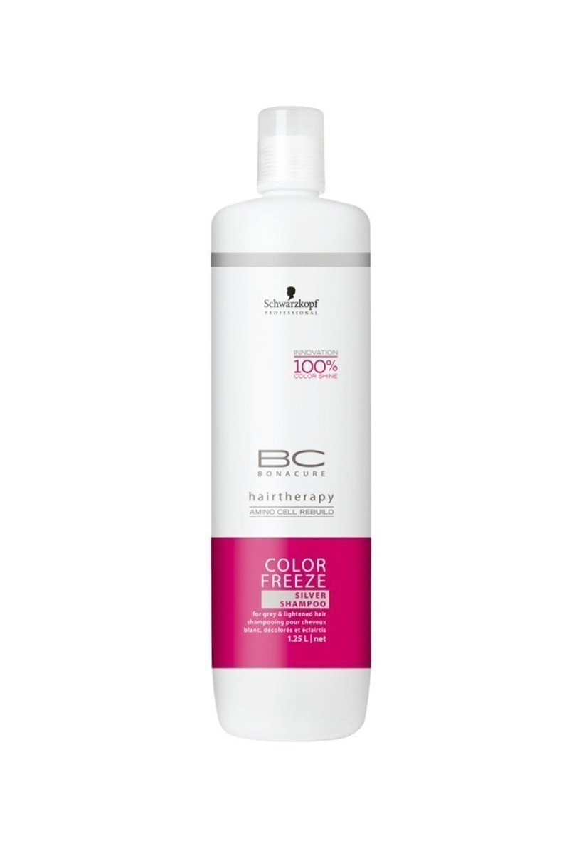 Schwarzkopf 4045787173147 Bonacure Şampuan Color Freeze Silver 1250Ml
