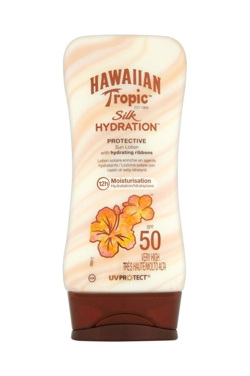 Hawaiian Tropic 5099821001421 Lotion Silk Hydratıon Spf50 180Ml