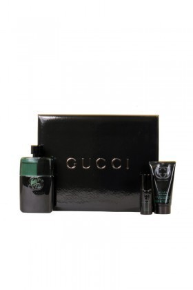 Gucci 737052716008 Guilty Black Erkek Set75+sg50+edt8
