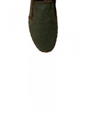 Pandew Yeşil PNDW-235 Hakiki Deri Erkek Çarık