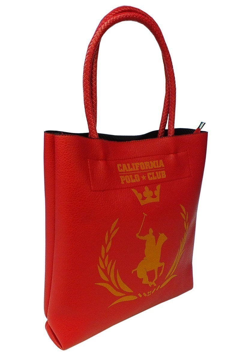 California Polo Club Kırmızı 3KK109284010KIR Bayan Çanta
