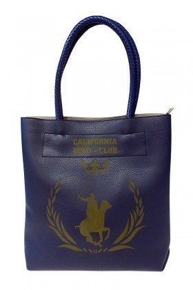 California Polo Club Lacivert 3KK109284010LAC Bayan Çanta