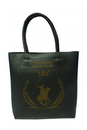 California Polo Club Siyah 3KK109284010SIY Bayan Çanta
