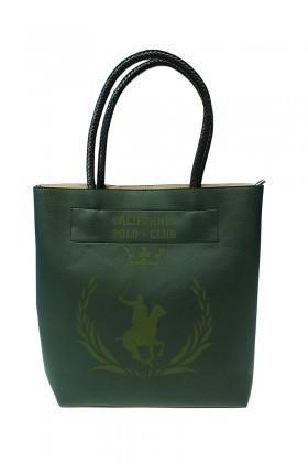 California Polo Club Yeşil 3KK109284010YSL Bayan Çanta