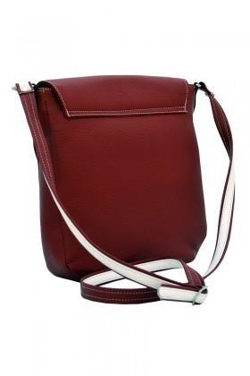 California Polo Club Kırmızı-Beyaz 3YZ215213897KBY Bayan Çanta
