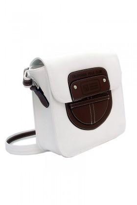 California Polo Club Beyaz-Camel 3YZ233213856BCA Bayan Çanta