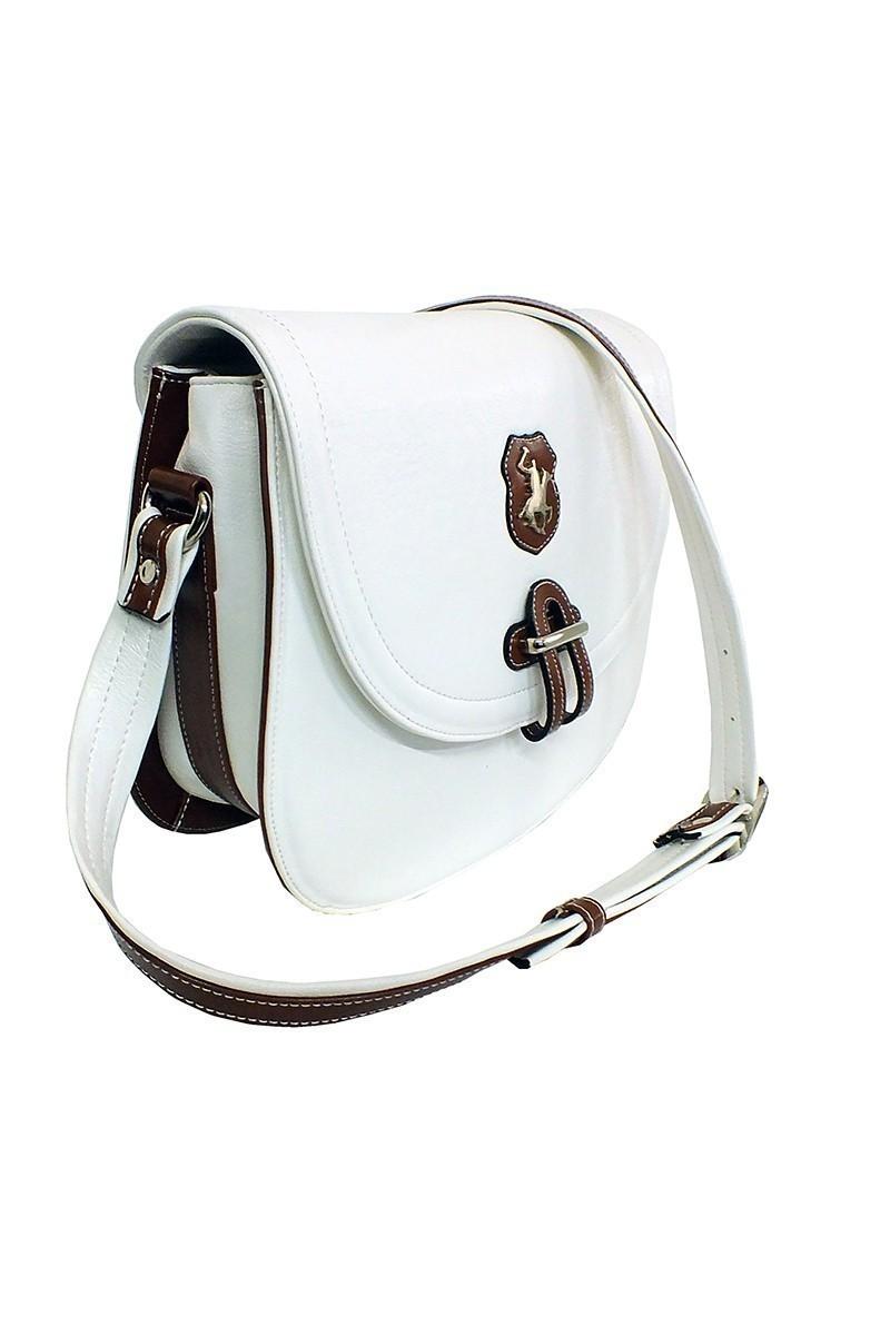 California Polo Club Beyaz-Taba 4KK51284042BTB Bayan Çanta