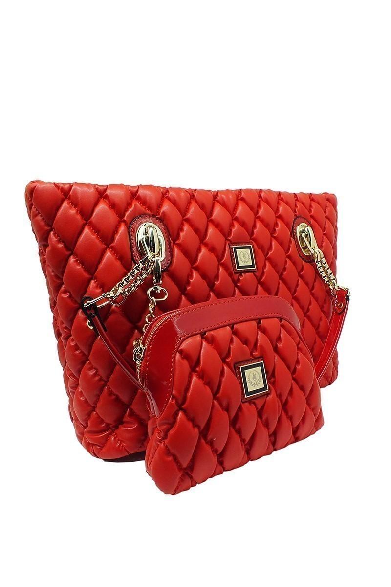 California Polo Club Kırmızı 4YK260284063KIR Bayan Çanta
