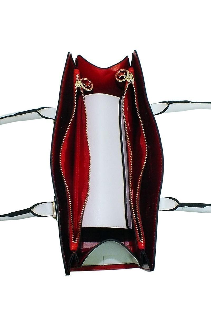 California Polo Club Beyaz 4KK244284521BYZ Bayan Çanta