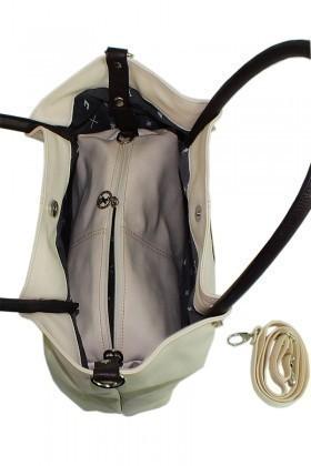 California Polo Club Bej-Kahve 4YK249284052BKH Bayan Çanta