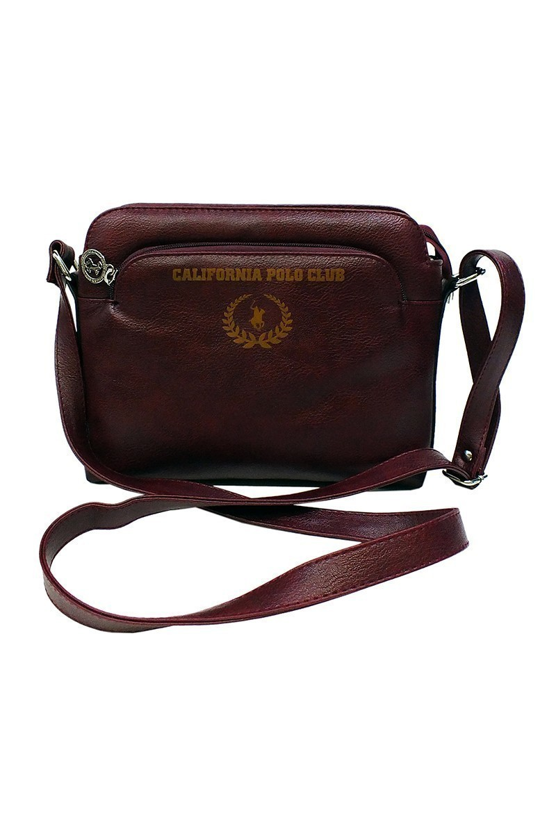 California Polo Club Bordo 4YK249284047BRD Bayan Çanta