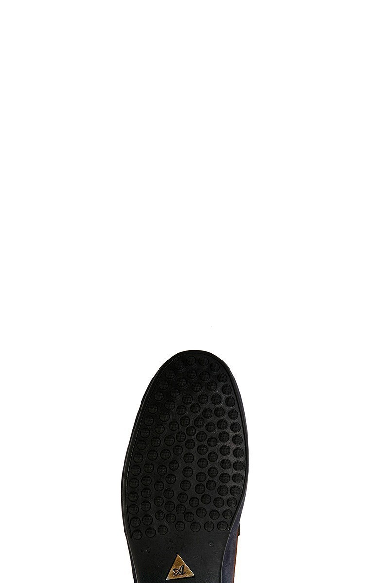 Pandew Lacivert PNDW-267-1 Hakiki Deri Erkek Ayakkabı