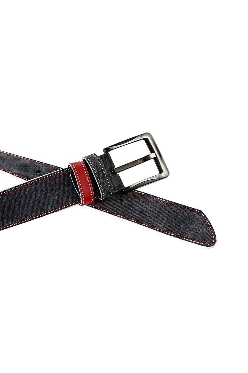 FSM Lacivert-Kırmızı FSM-015 Erkek Kemer