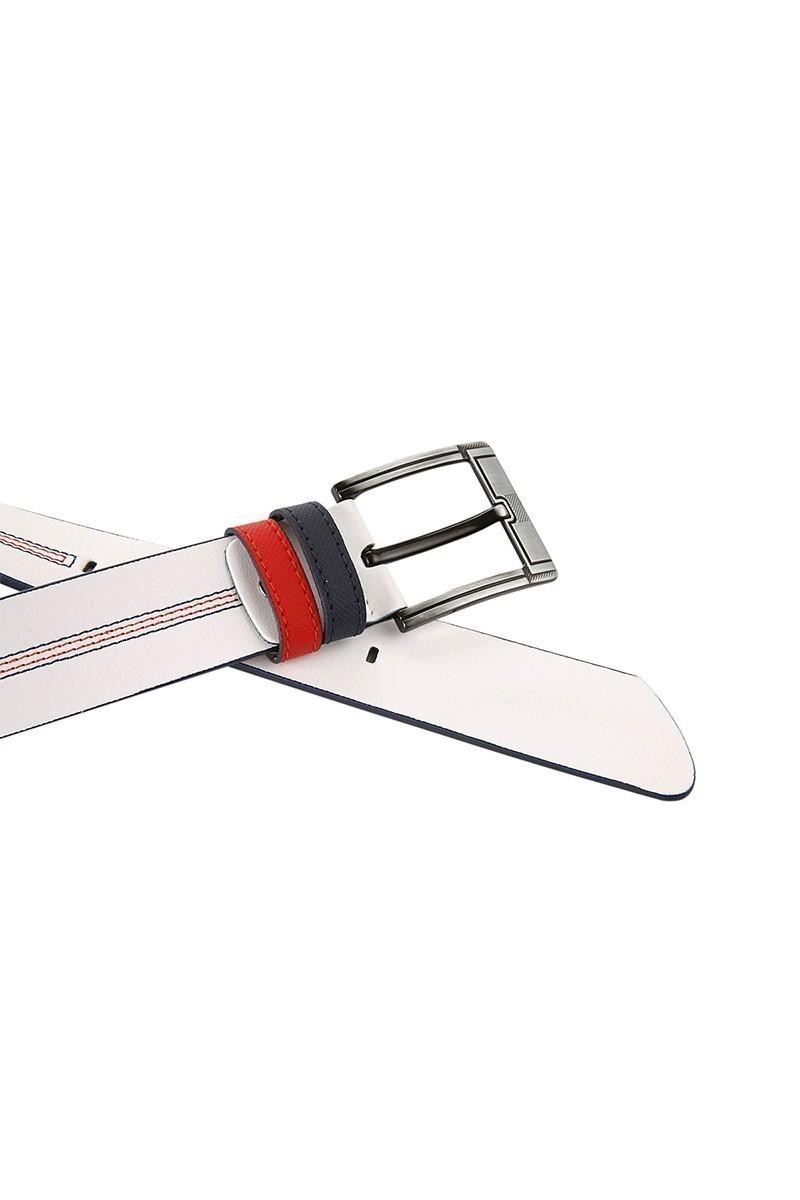 FSM Beyaz-Kırmızı-Lacivert FSM-016 Erkek Kemer