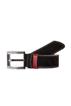 FSM Siyah-Kırmızı FSM-022 Erkek Kemer