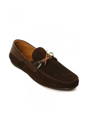 Pandew Kahverengi PNDW-KT Hakiki Deri Erkek Ayakkabı