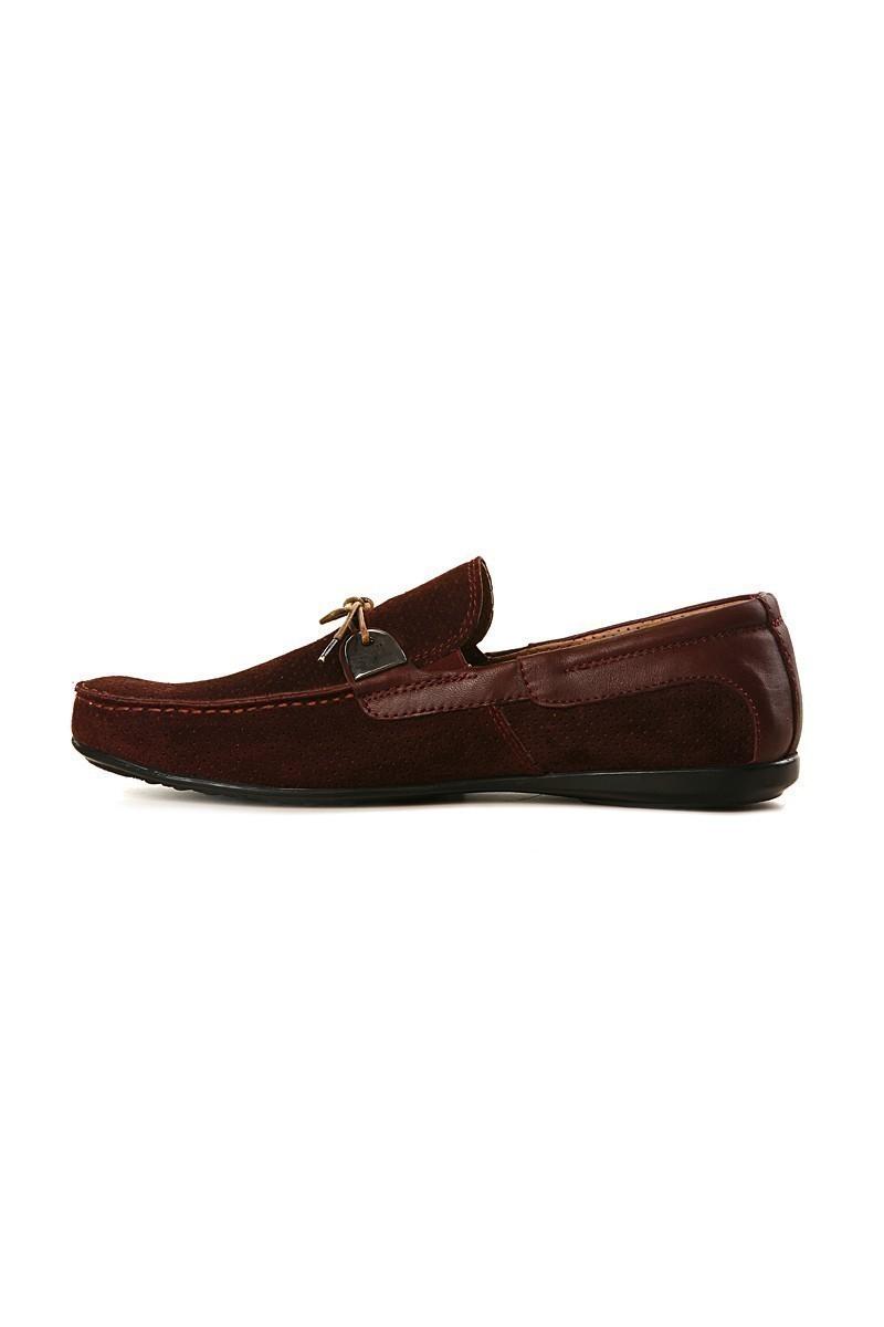 Pandew Bordo PNDW-KT Hakiki Deri Erkek Ayakkabı