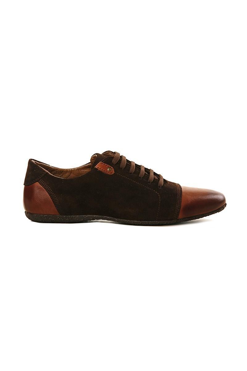 Pandew Kahverengi RMR-RMY Hakiki Deri Erkek Ayakkabı