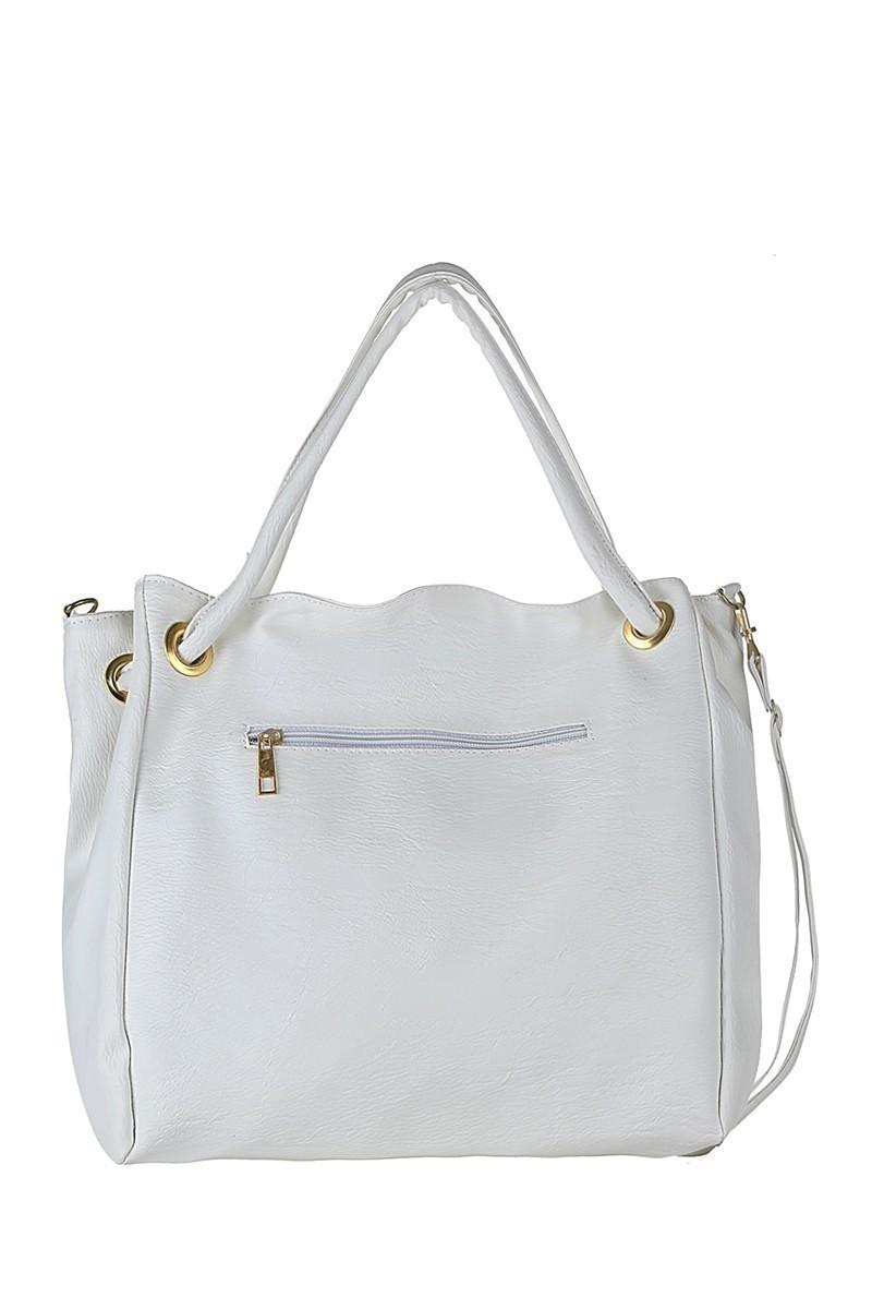 OB Beyaz CP-276-YY02 Bayan Çanta