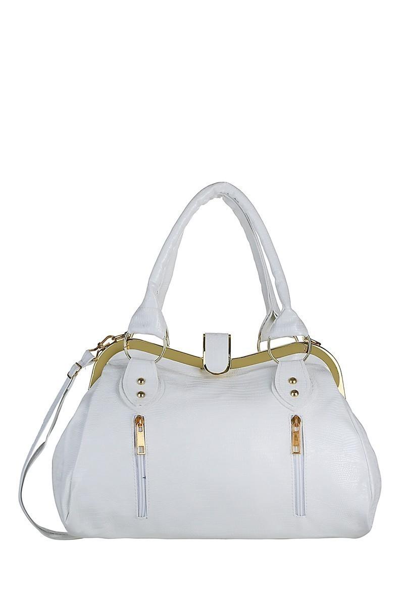 OB Beyaz CP-335-02 Bayan Çanta