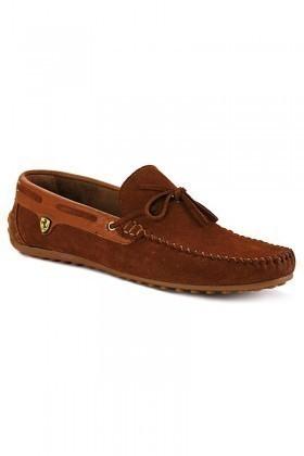 Pandew Taba-Kahve PNDW-FR-SUET-BAG Hakiki Deri Erkek Ayakkabı