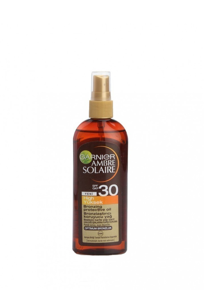 Ambre Solaire 3600541030633 Golden Touch Yağ Spray SPF30 150ml