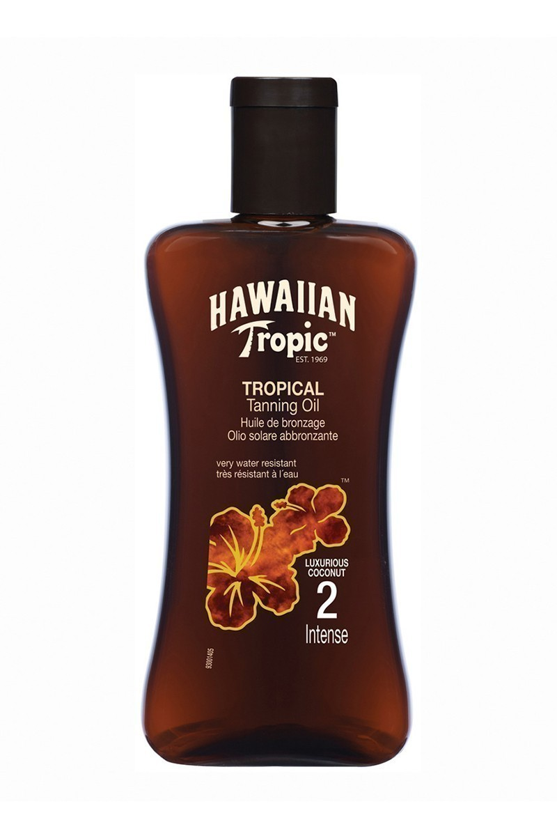 Hawaiian Tropic 5099821001087 Yağ SPF2 200ml